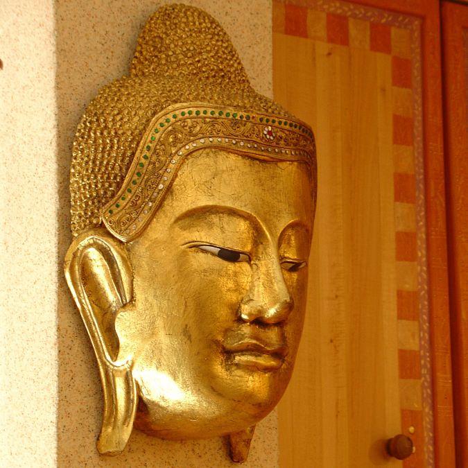 Маска на Буда