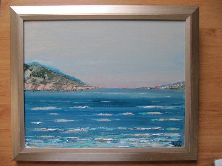 """Картина - """"Заливът на Делфините"""""""