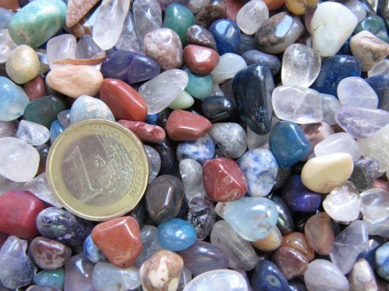 Полирани Камъни -  Микс